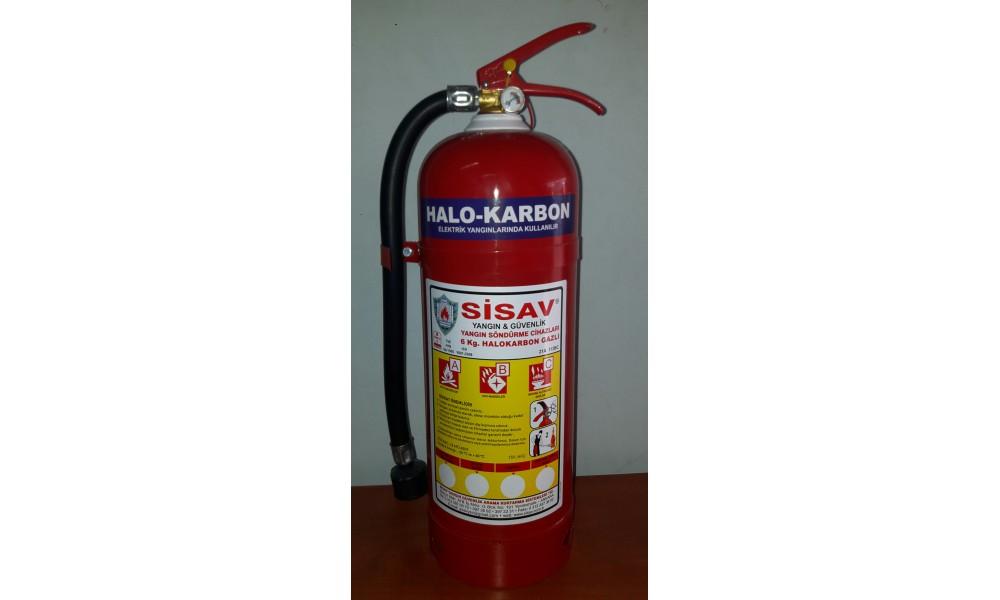 Halokarbon Gazlı Yangın Söndürme Cihazları