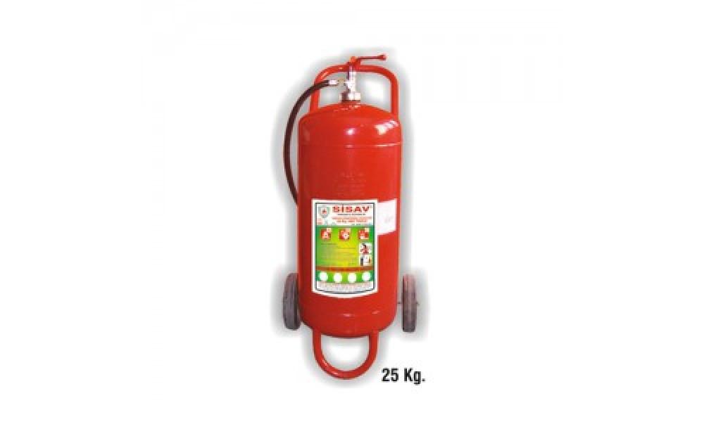 50 kg. Köpüklü Yangın Söndürme Cihazı