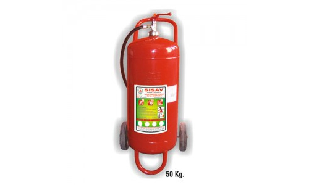 50 kg. Kuru Kimyevi Tozlu Yangın Söndürme Cihazı