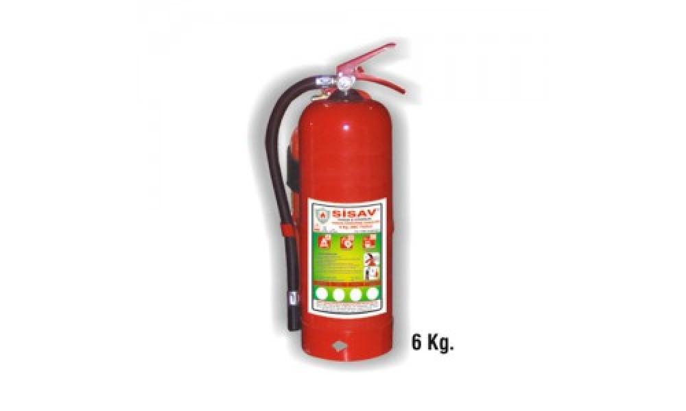 6 kg. Köpüklü Yangın Söndürme Cihazı