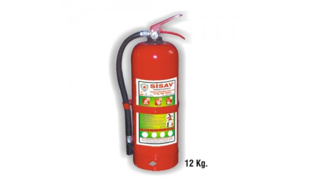 12 kg. Köpüklü Yangın Söndürme Cihazı