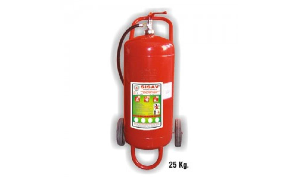 25 kg. Köpüklü Yangın Söndürme Cihazı