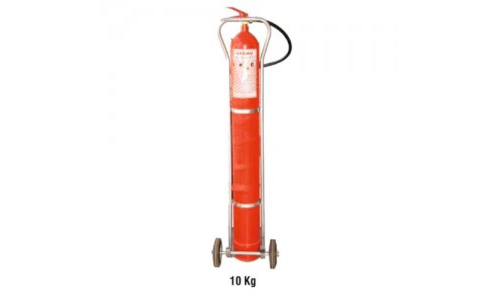 10 kg. Karbondioksit Gazlı Yangın Söndürme Cihazı