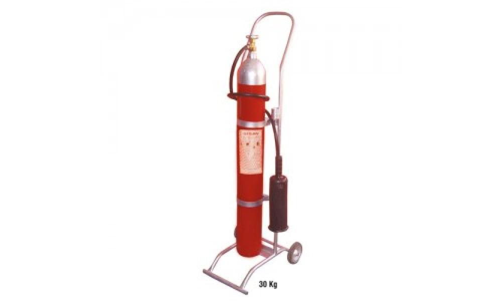 30 kg. Karbondioksit Gazlı Yangın Söndürme Cihazı