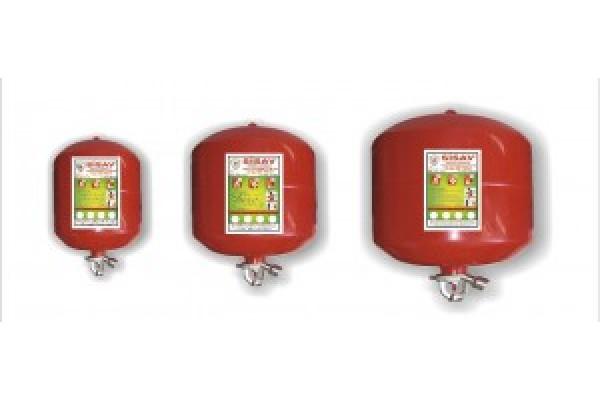 Sprink Başlıklı Tozlu ve Halokarbonlu Yangın Söndürme Cihazları