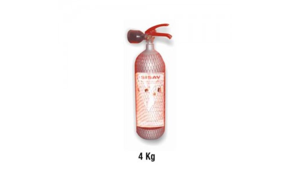 4 kg. Karbondioksit Gazlı Yangın Söndürme Cihazı